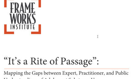 """It's a Rite of Passage"" – FrameWorks Institute"