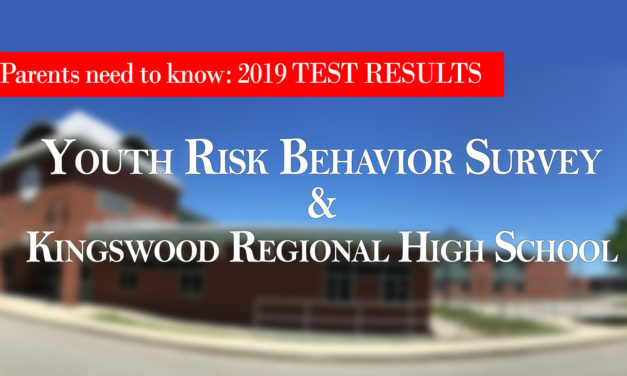2019  YRBS  RESULTS – KINGSWOOD  COMPARISON