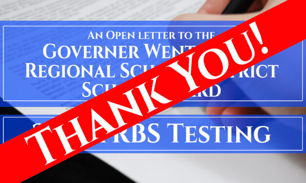 Thank You – YRBS Testing Approved
